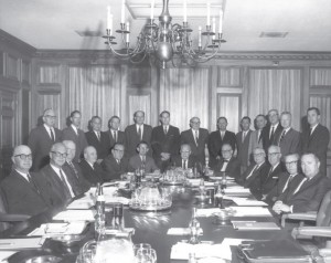 Board of Governors of The Coca-Cola Bottlers' Association at its Fall Meeting held in Atlanta on October 27, 1967, in the Board room at the Association's former Headquarters at 166 16th Street.