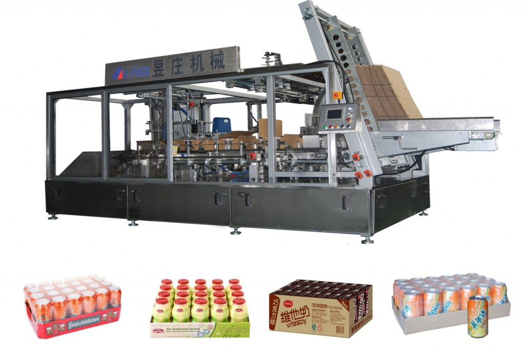 Side-load Tray Packer