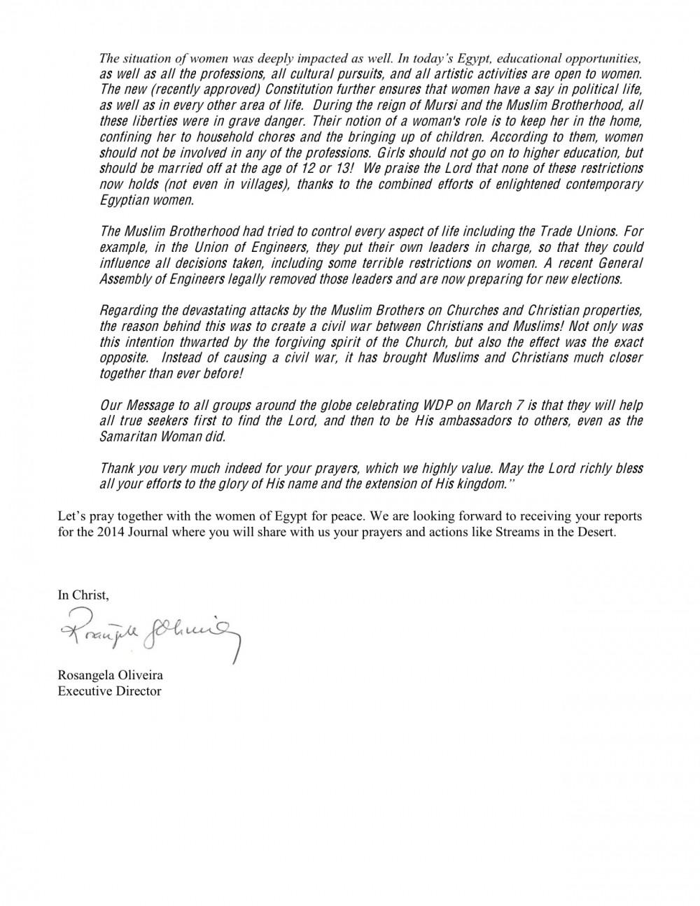 2014-13-2-WDP-Egypt-Message